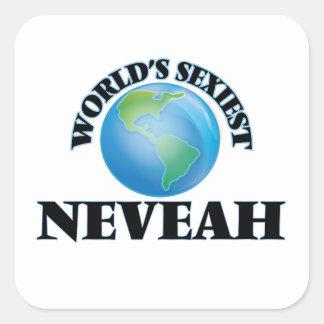Neveah le plus sexy du monde sticker carré
