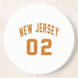 New Jersey 02 conceptions d'anniversaire Dessous De Verres