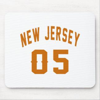 New Jersey 05 conceptions d'anniversaire Tapis De Souris