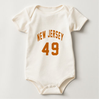 New Jersey 49 conceptions d'anniversaire Body