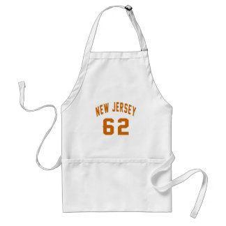 New Jersey 62 conceptions d'anniversaire Tablier