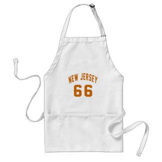 New Jersey 66 conceptions d'anniversaire Tablier