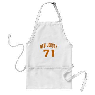 New Jersey 71 conceptions d'anniversaire Tablier