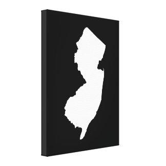 New Jersey dans le blanc et le noir Toiles