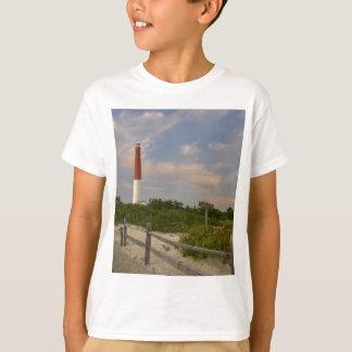 New Jersey Etats-Unis de phare d'île de Long Beach T-shirt