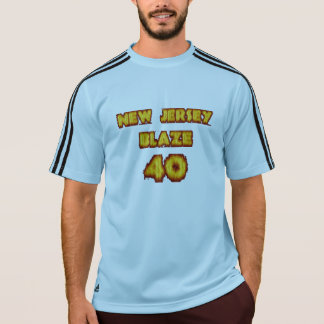 New Jersey ! Flamme fictive, équipe, chemise ! T-shirt