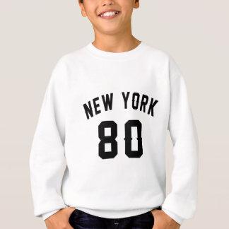 New York 80 conceptions d'anniversaire Sweatshirt