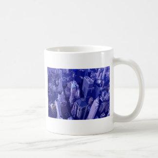 New York bleu Tasse À Café