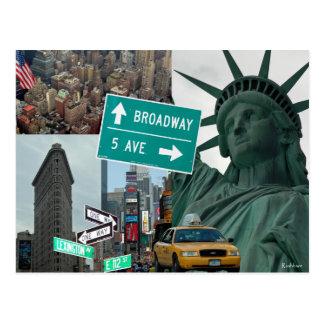 NEW YORK CARTE POSTALE