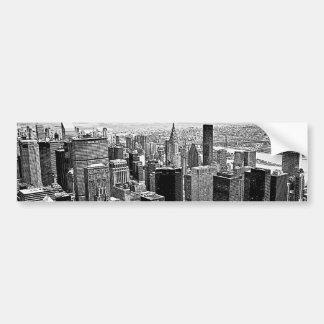 New York City Autocollant De Voiture