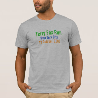 New York City, course de Fox de Terry, le 18 T-shirt