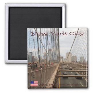 New York City d aimant de pont de Brooklyn