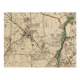 New York City du nord 5 Carte Postale