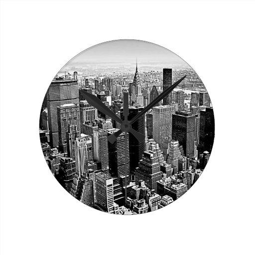 New York City Pendule Murale