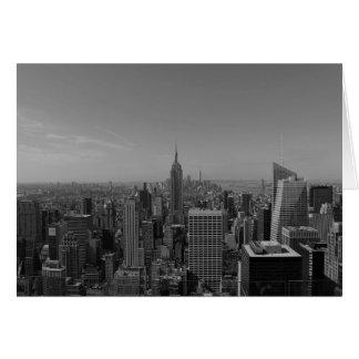 New York City/Noir, carte