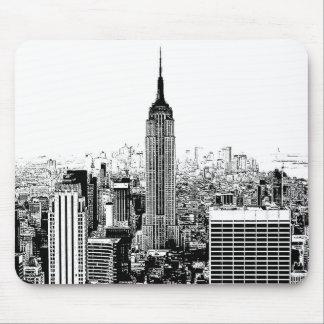 Vieux New York City Tapis Pour Souris Et Vieux New York City Tapis De Souris