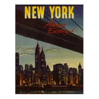 New York City vintage, Etats-Unis - Cartes Postales