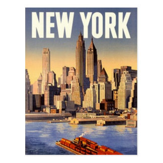 New York City vintage, Etats-Unis - Cartes Postales