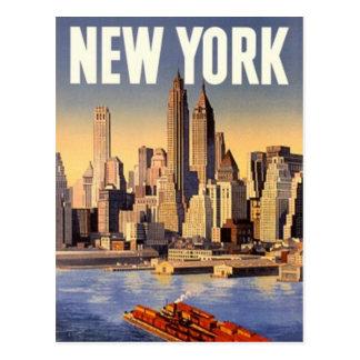New York City vintage Etats-Unis - Carte Postale