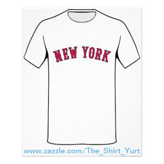 New York contre des rivaux de Boston Prospectus 11,4 Cm X 14,2 Cm