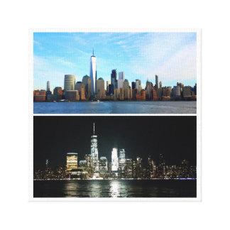 New York jour et nuit Toiles