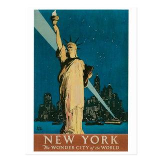 New York La ville de merveille de l affiche du m Cartes Postales