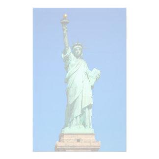New York, statue de la liberté Papier À Lettre Personnalisé