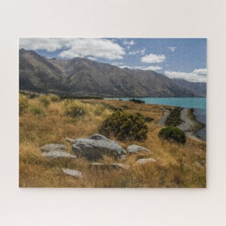 New Zealand Jigsaw Puzzle - Lake Ohau