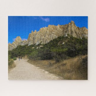 New Zealand Jigsaw Puzzle - Omarama clay cliffs