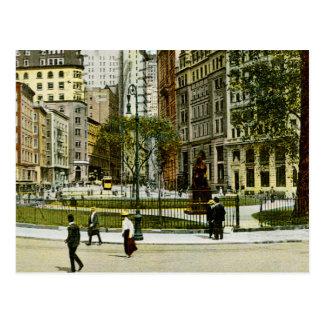 NewYork vintage, photographie de Bowling Green Carte Postale