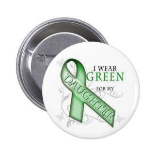 NF1, conscience de neurofibromatose - ruban vert Pin's