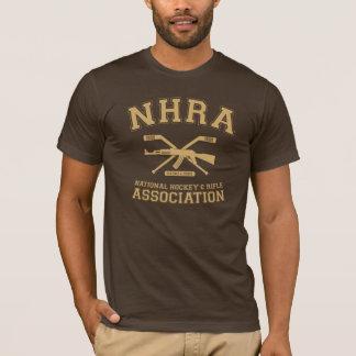 NHRA - Hockey et fusil nationaux Assoc. T-shirt