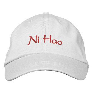 Ni chinois Hao de casquette de baseball