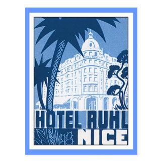 Nice hôtel vintage de la France Carte Postale