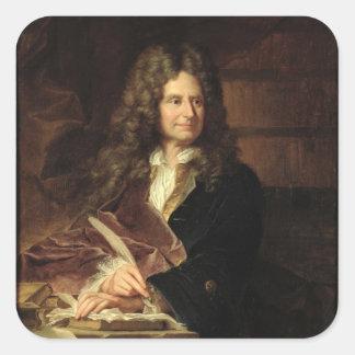Nicolas Boileau après 1704 Sticker Carré