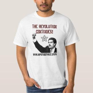 Nicolas Maduro : La révolution continue ! T-shirt