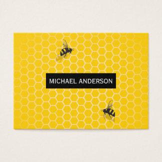 Nid d'abeilles/abeilles cartes de visite