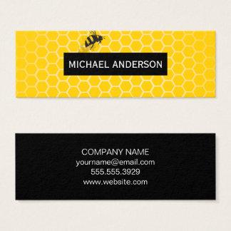 Nid d'abeilles/abeilles mini carte de visite
