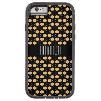 Nid d'abeilles noir et jaune inspiré coque tough xtreme iPhone 6