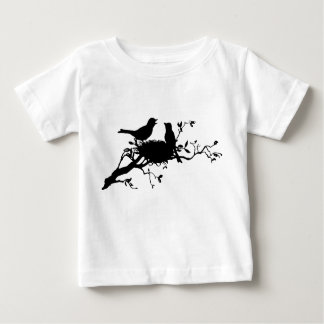 Nid d'oiseau t-shirt pour bébé