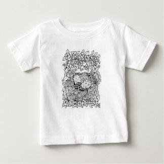 Nid fantastique de forêt t-shirt pour bébé
