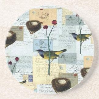 Nids et petits oiseaux - Dessous de verre