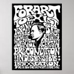 Nietzsche - art affiche
