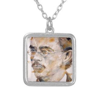nietzsche de Friedrich - aquarelle portrait.2 Collier