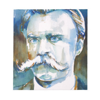 nietzsche de Friedrich - portrait d'aquarelle Blocs Notes