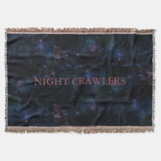 night crawlers couvre pied de lit zazzle. Black Bedroom Furniture Sets. Home Design Ideas