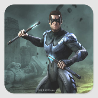 Nightwing Sticker Carré