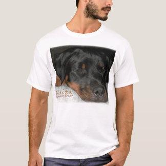 Nikita le rottweiler endormi t-shirt