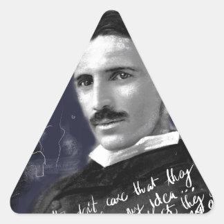 Nikola Sticker Triangulaire