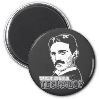 Nikola Tesla Magnet Rond 8 Cm